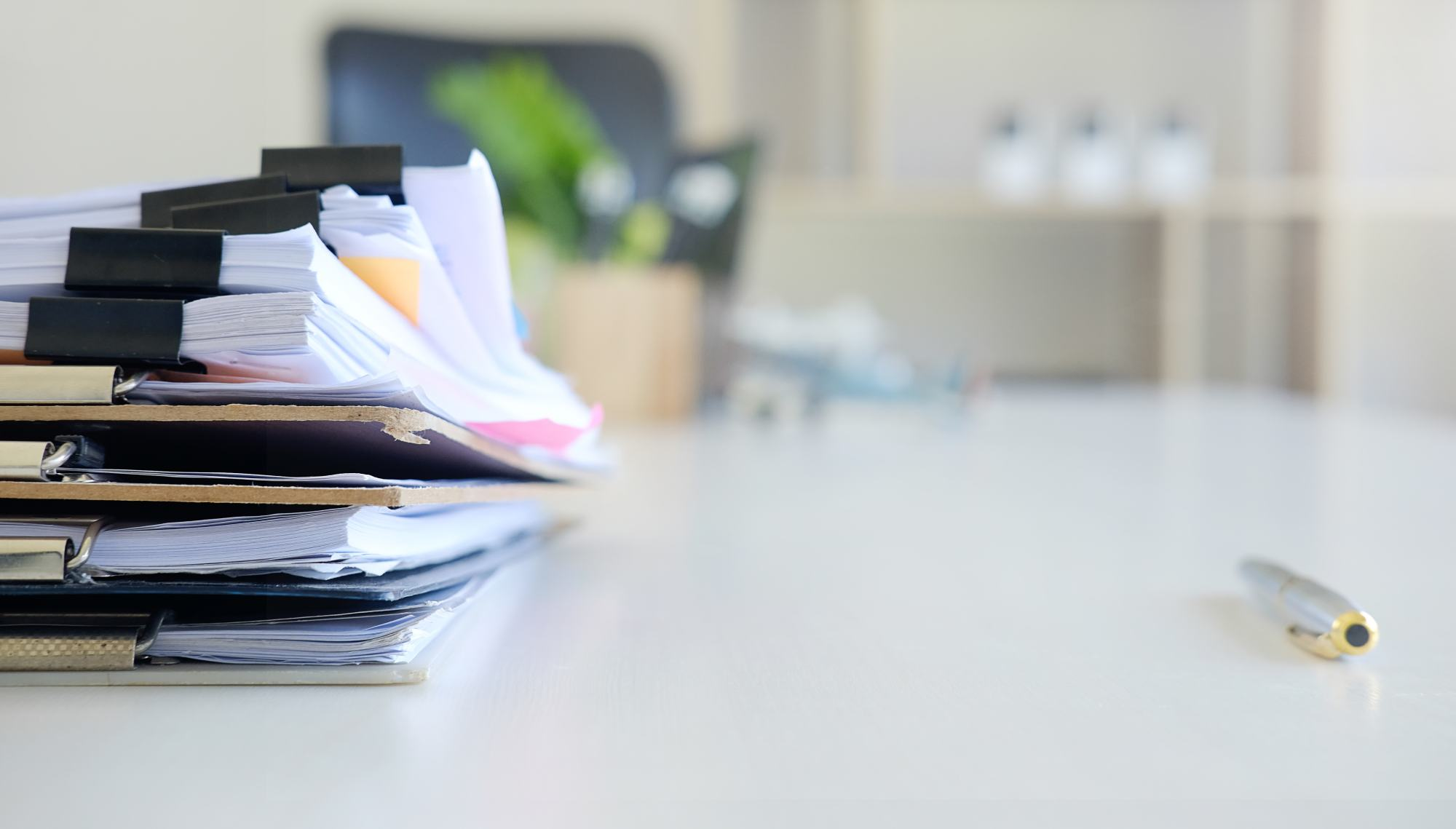 legal documents on a desk