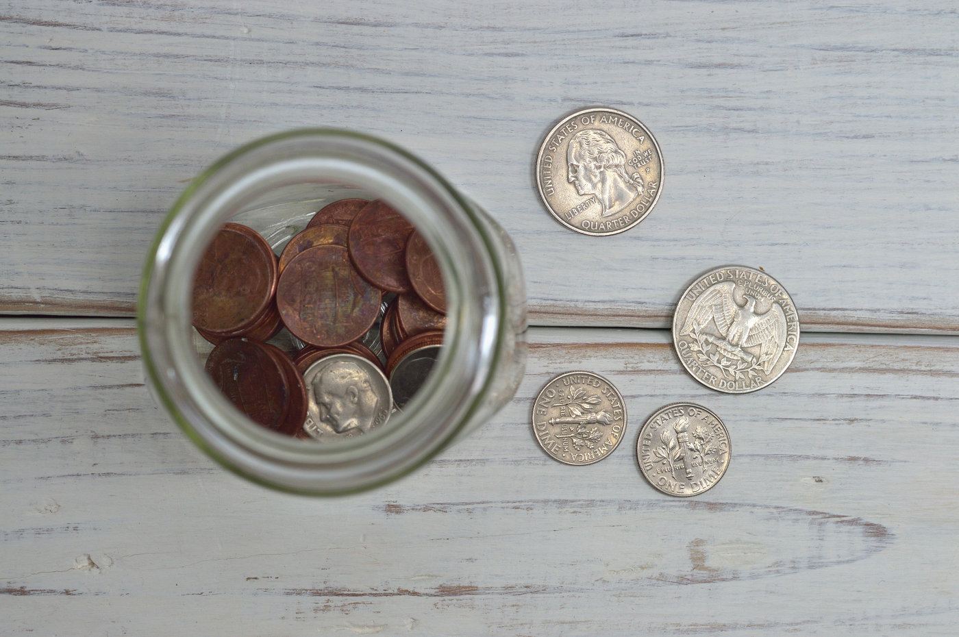 coins-in-a-jar