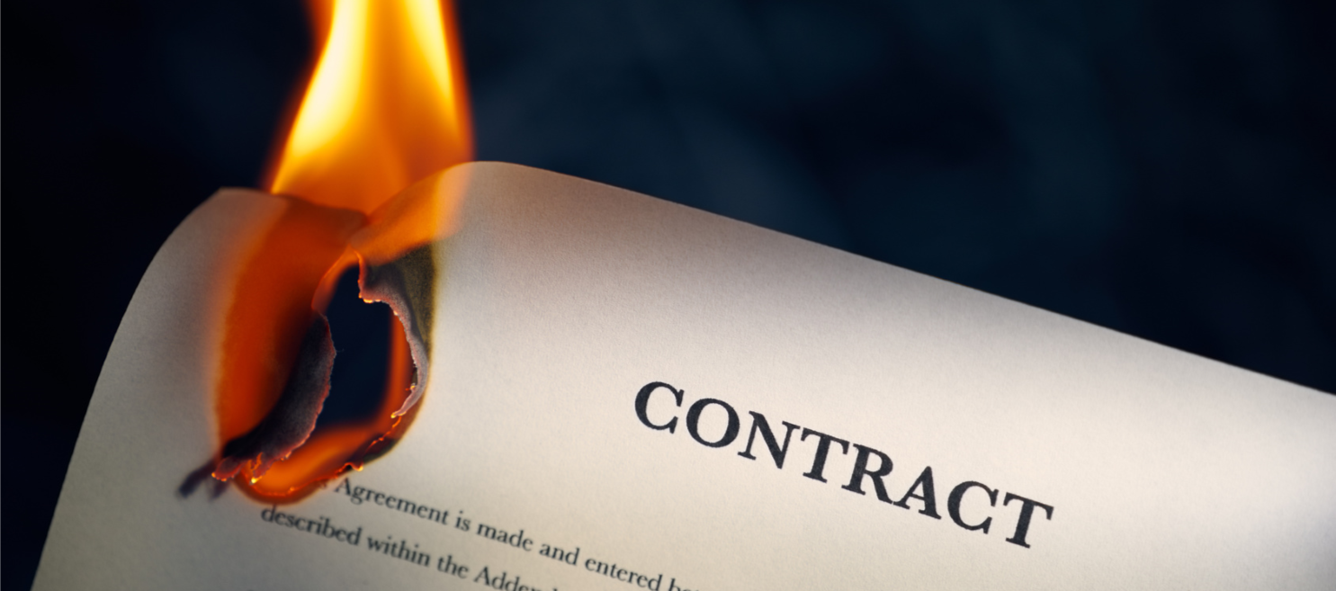contract-on-fire-frustration-of-contract