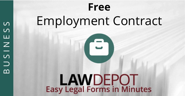 Employment Contract Free Employee Agreement Form US – Employment Contract Free Template