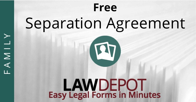 Separation Agreement Template | Free Separation Agreement Forms (Us)